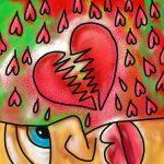 uiteenspattende liefde